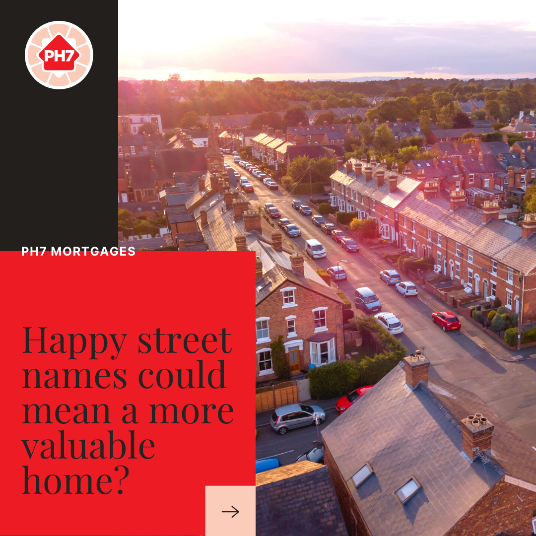 Happy street name equals a more valuable home?